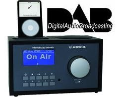 Digitales Radio DAB WLAN