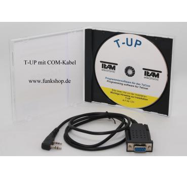 TEAM T-UP19 Programmier Software mit Adapter Kabel Tecom Z5